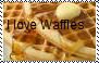 I love waffles stamp by Raephen