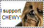 I support Chewy stamp by Raephen