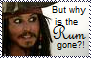 But why is the rum gone stamp by Raephen