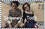 Sweeney Todd beach stamp by Raephen