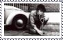 John Lennon stamp by Raephen