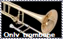 Only Trombone Stamp by Raephen