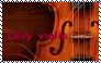 Only Violin Stamp by Raephen
