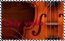 Only Violin Stamp by Raephen