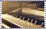 Only Piano Stamp by Raephen