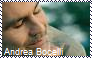 Andrea Bocelli Stamp by Raephen