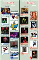 Favorite Marvel Villains and Heroes by Hordaks-Pupil