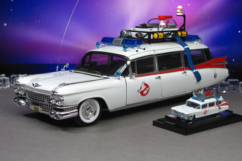 1959 Cadillac Miller-Meteor Ambulance ECTO-1 - whi by ...