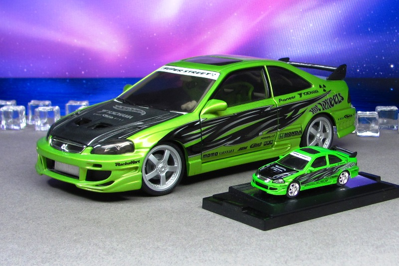 2000 Honda Civic Si   Green 18u003d64   Hot Wheels And By Deanomite1eighteen ...