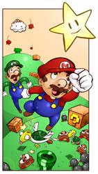 Super Mario by steverinoz
