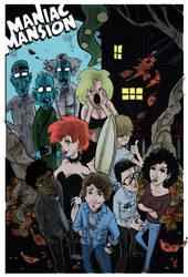 Maniac Mansion by steverinoz
