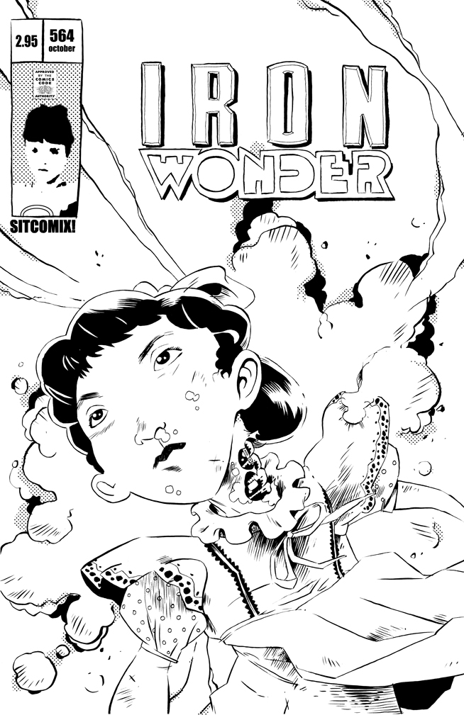 Small Wonder Sitcomix by steverinoz