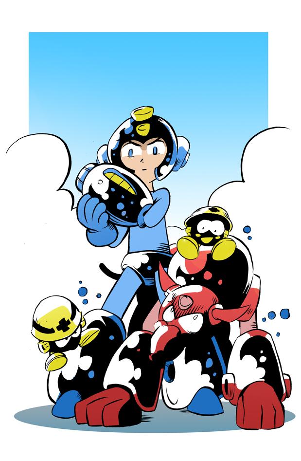 Mega Man by steverinoz