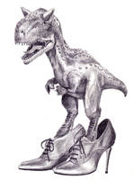 Dinosaur by crapwhereaminow