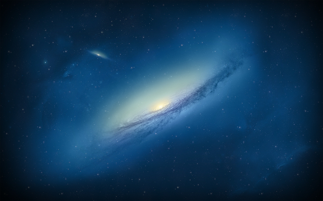 Blue Galaxy Wallpaper (+Premium space wallpapers) by ...