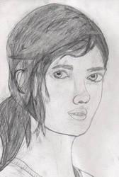 The Last Of Us // Ellie (My first fan-art) by ChrisFR06