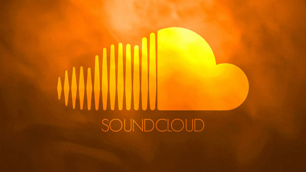 Soundcloud wallpaper - 'Orange Galaxy'