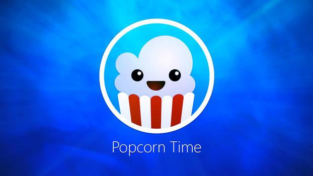 Popcorn Time wallpaper - 'Blue Space'