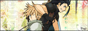 Zack and Cloud Crisis Core