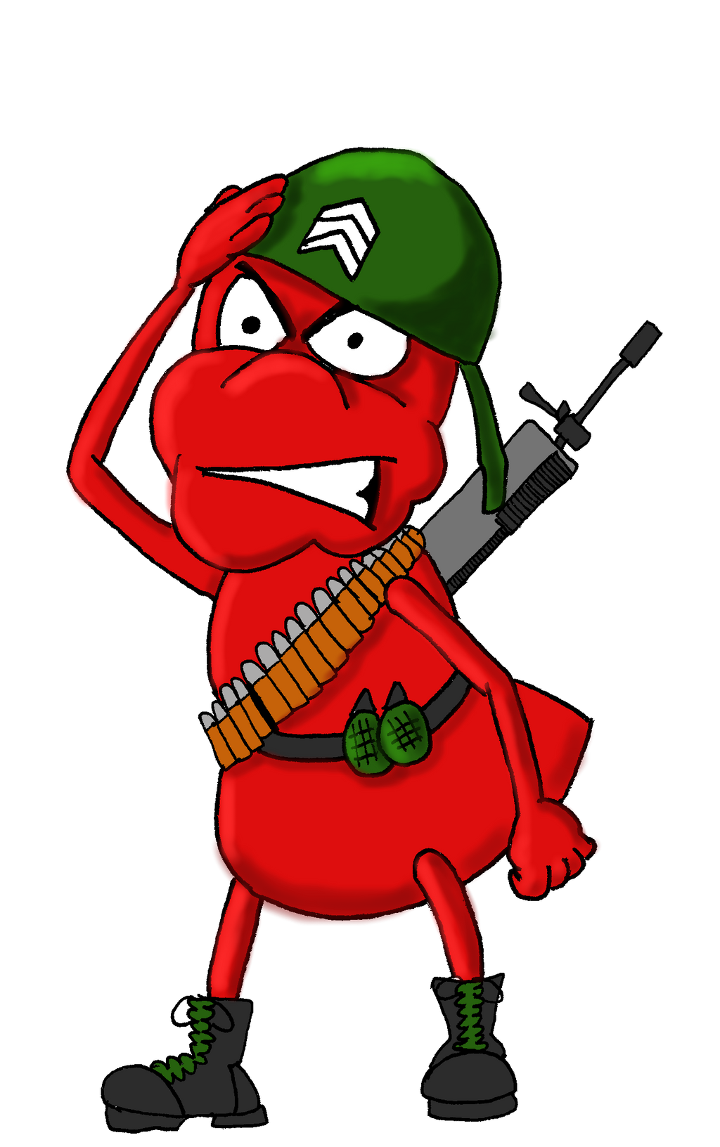 army ant soldier