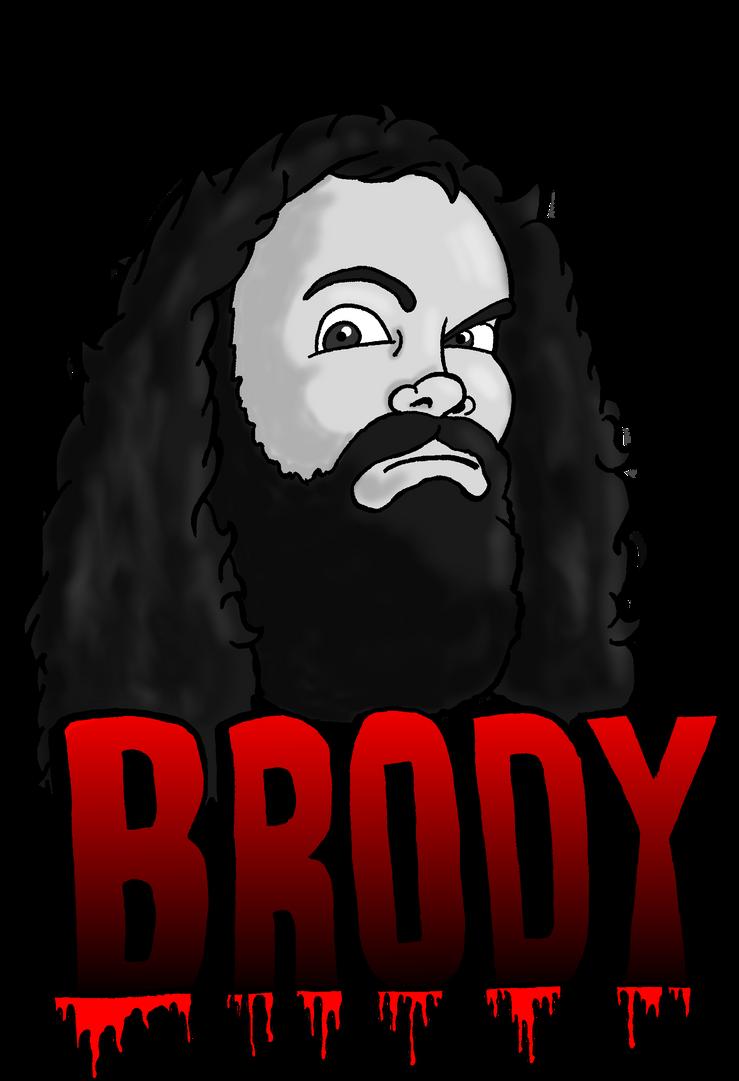 Bruiser Brody by dan-morrow