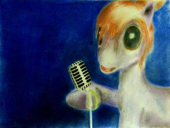 Gift/Art Trade:  Singing in the Moonlight by gturkey