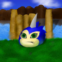 Gift:  Sonic the Tsunomon