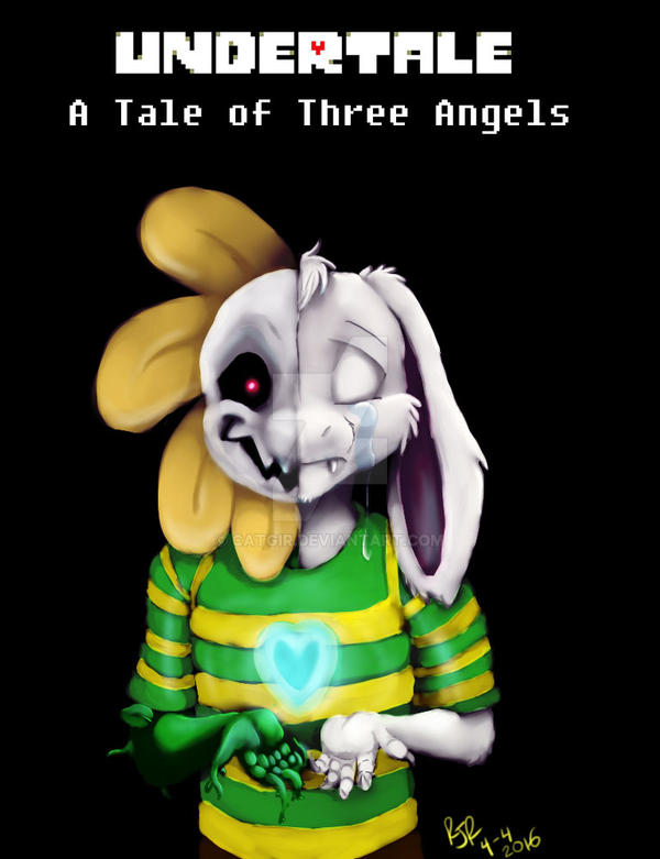 Undertale A Tale Of Three Angels Cover A By Catgir On