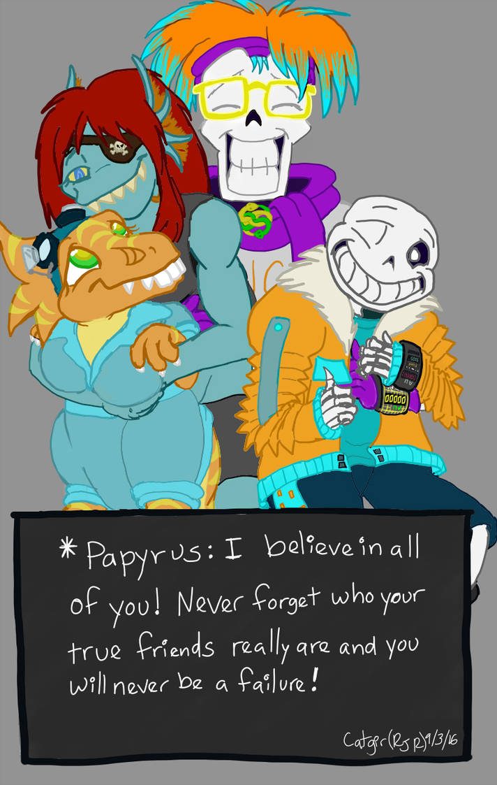 Dimensiontale Papyrus Beliveves in Motivational