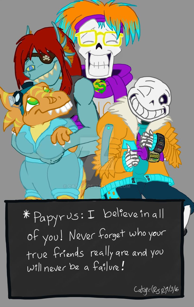Dimensiontale Papyrus Beliveves in Motivational by catgir