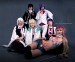 Group of exorcists by freedomheart