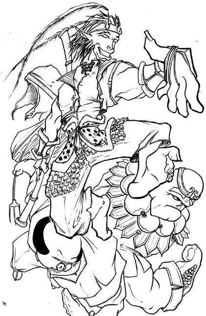 Monkey King By Banes