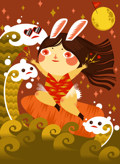Year of bunny by lucyelva