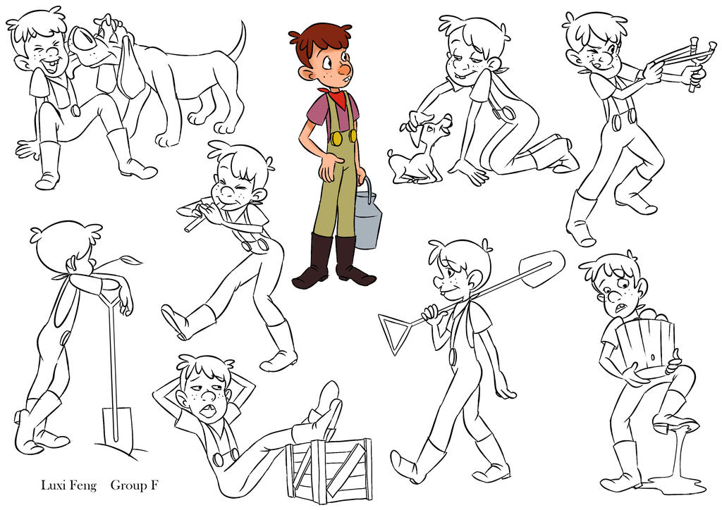 Character Design Poses : Character poses by lucyelva on deviantart