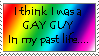 I was gay Stamp 8D by Kazu-Daii