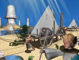 3dscene-Mediarian Civilization by Orianonic