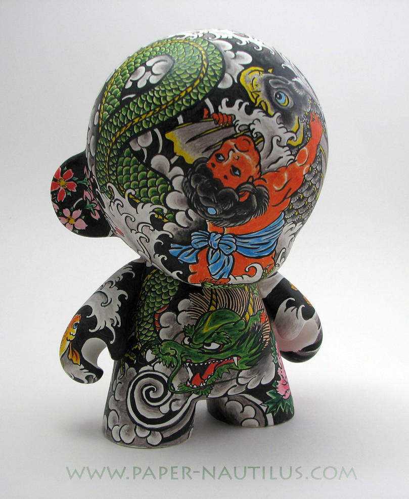 Japanese Tattoo Wallpaper: Yakuza Munny By Cacodaemonia On DeviantArt