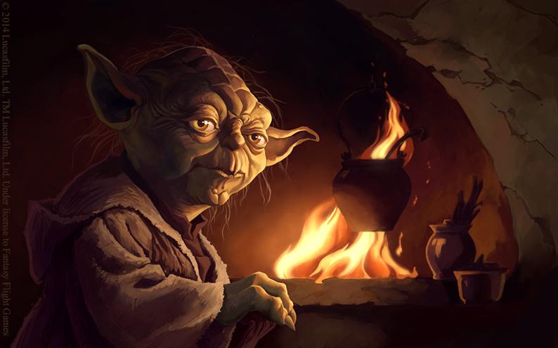 Yoda by Alisaryn