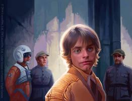 Luke Skywalker by Alisaryn