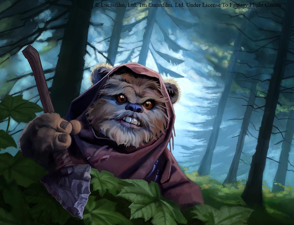 Ewok ambusher by alisaryn on deviantart - Ewok wallpaper ...