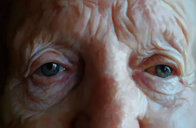 Wrinkled skin by Alisaryn