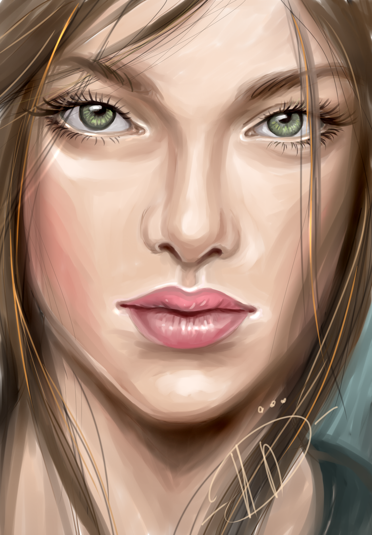 green eyes by Poplavskaya