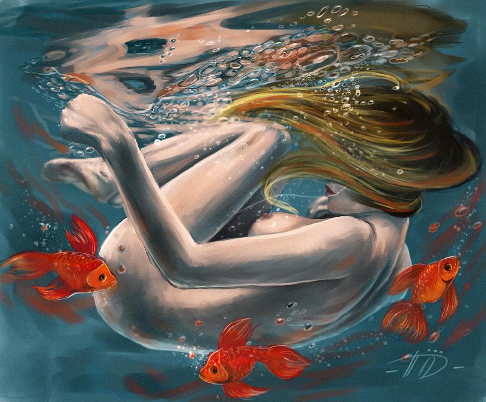 Falling by Poplavskaya