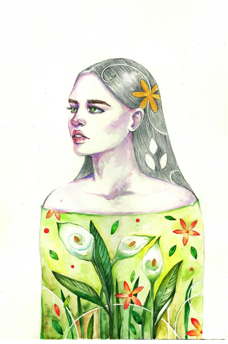 Calla lily by Poplavskaya