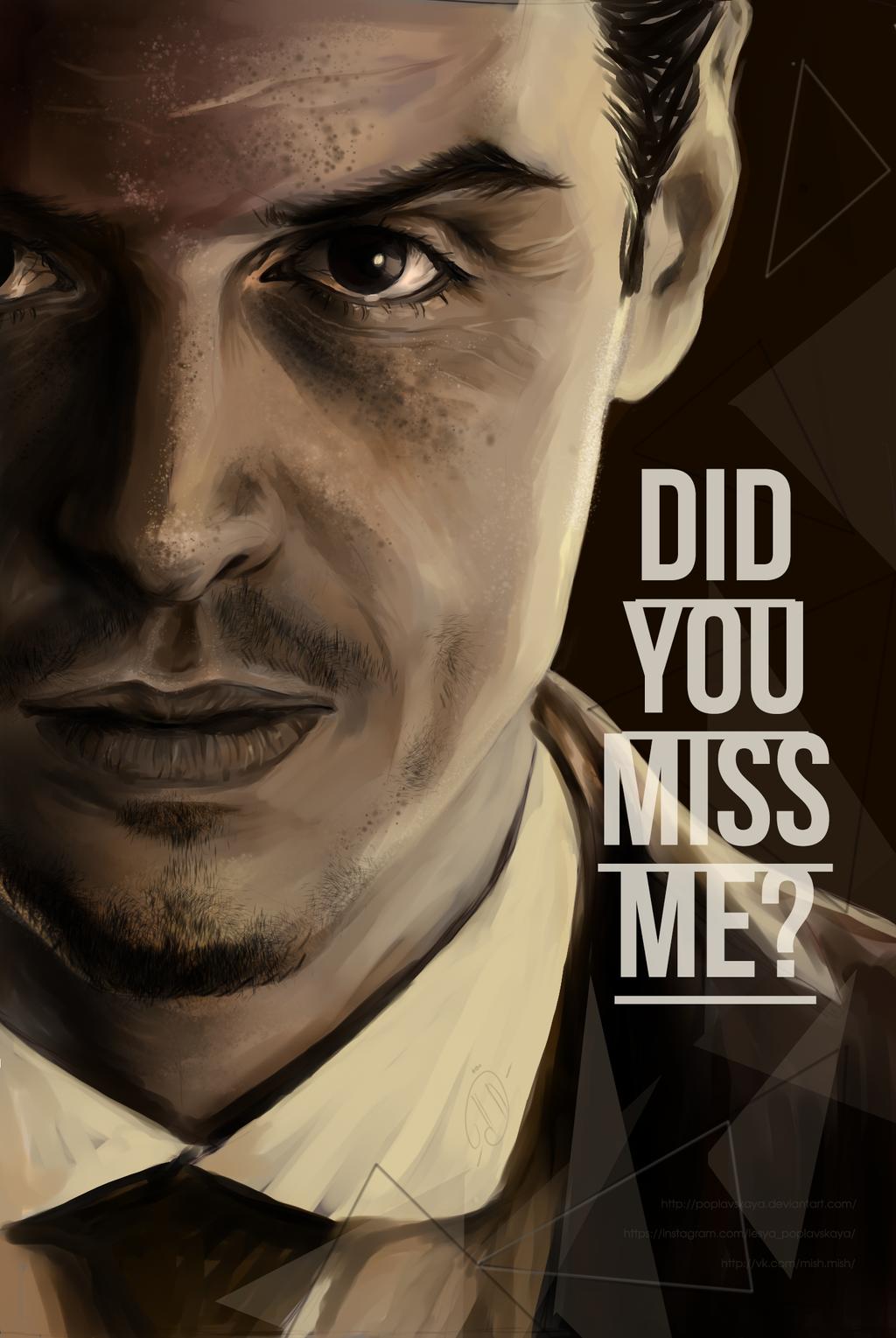 DID YOU MISS ME|Moriarty by Poplavskaya on DeviantArt