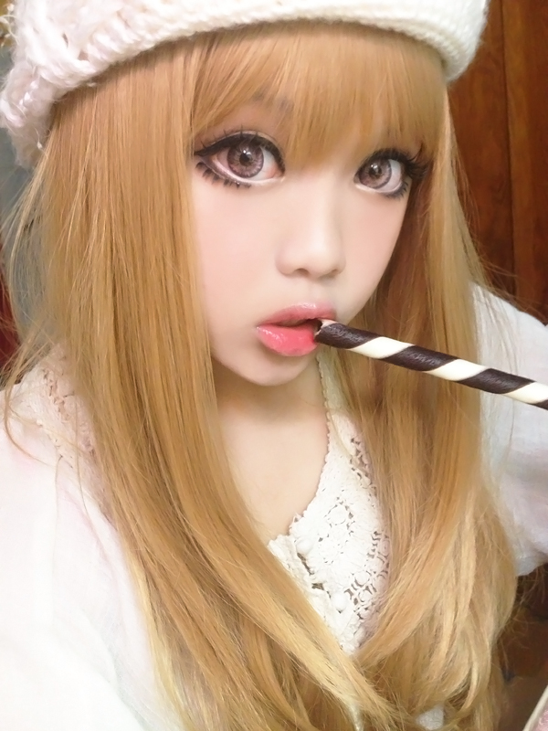 Kawaii Look With Pink Circle Lenses By Askuniqso On Deviantart