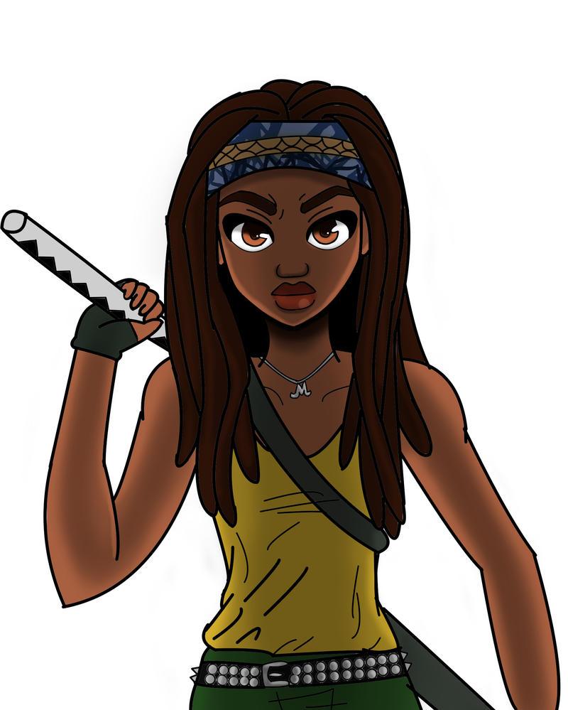 The Walking Dead Michonne by Imaginary2095