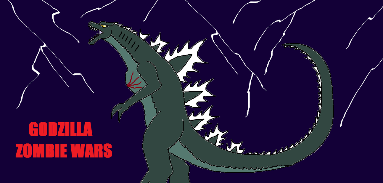 how to draw godzilla 2014 step by step easy