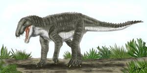 Baurusuchus.