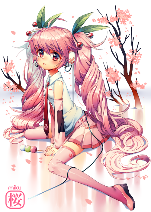 sakura miku by Satchely